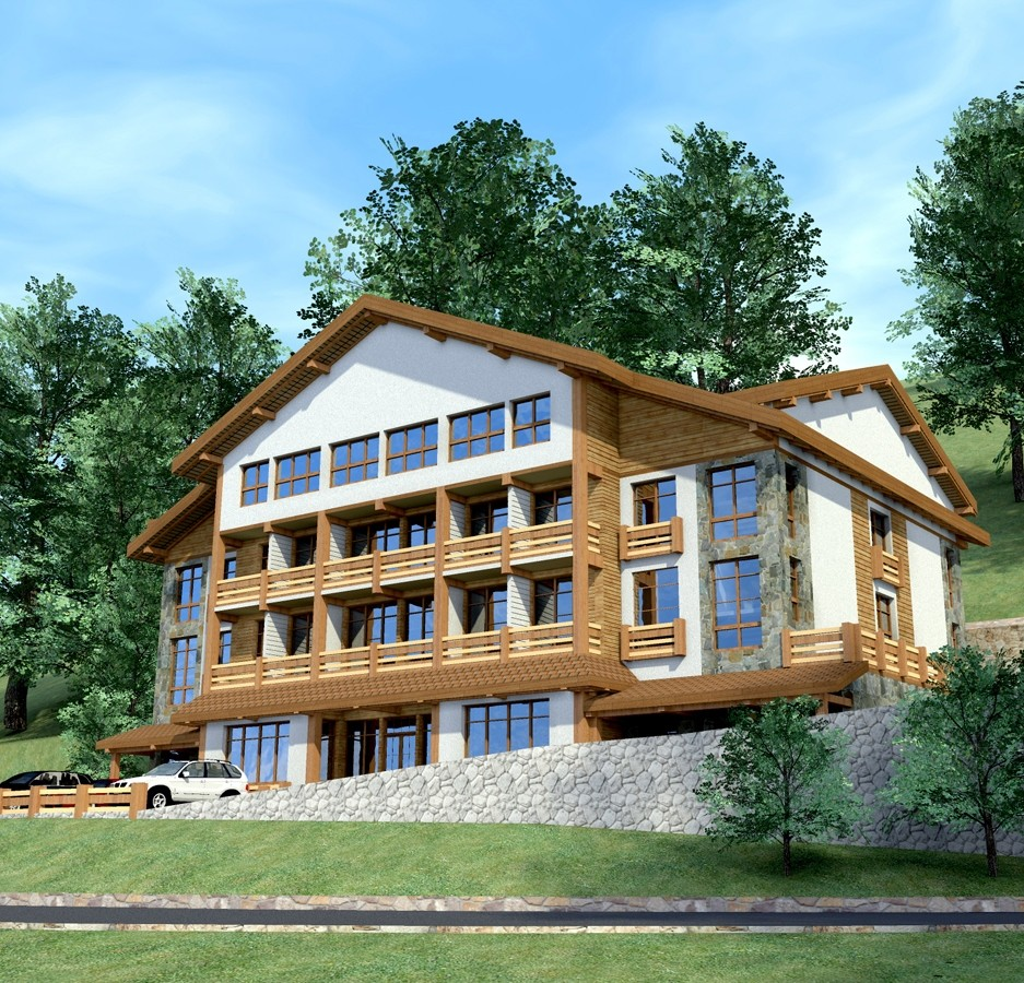 Проекты мини гостиниц