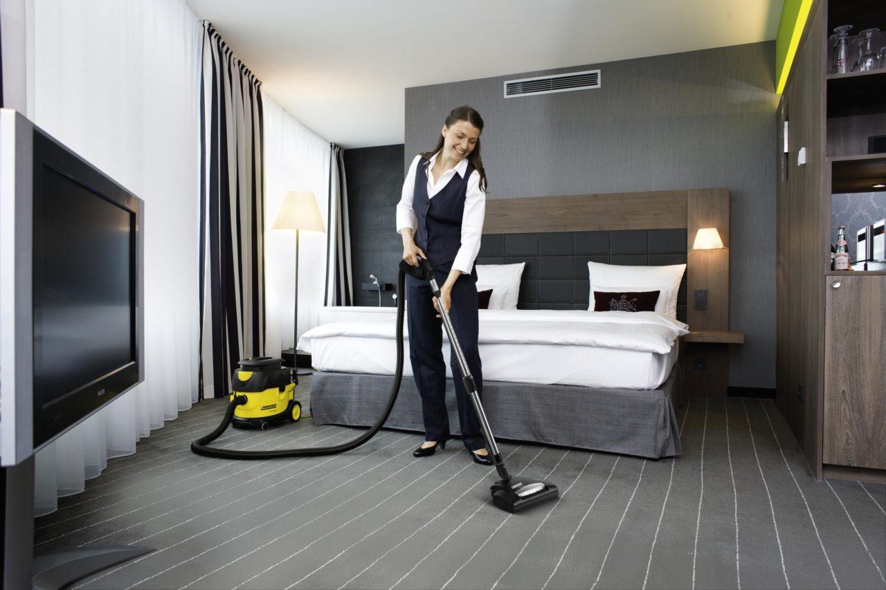 Уборочное оборудование для гостиниц и ресторанов