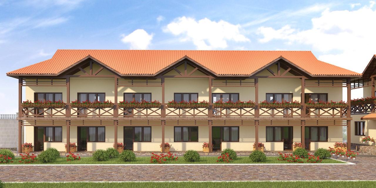Проекты мини гостиниц и частных отелей на заказ