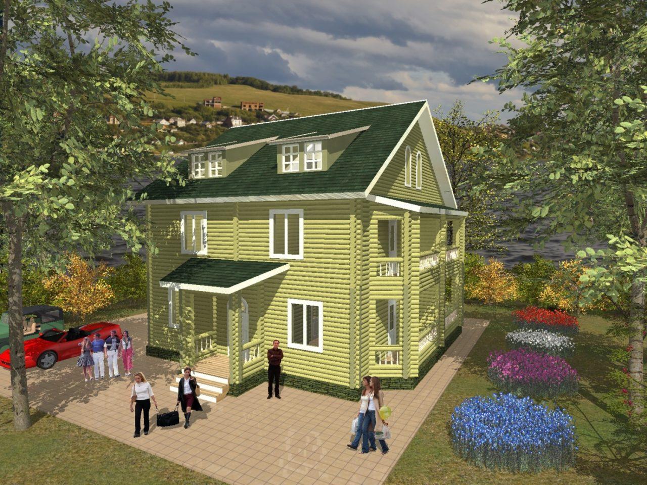 Проекты строительства деревянных мини гостиниц