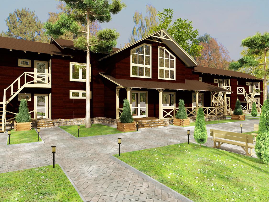 Проекты деревянных мини гостиниц